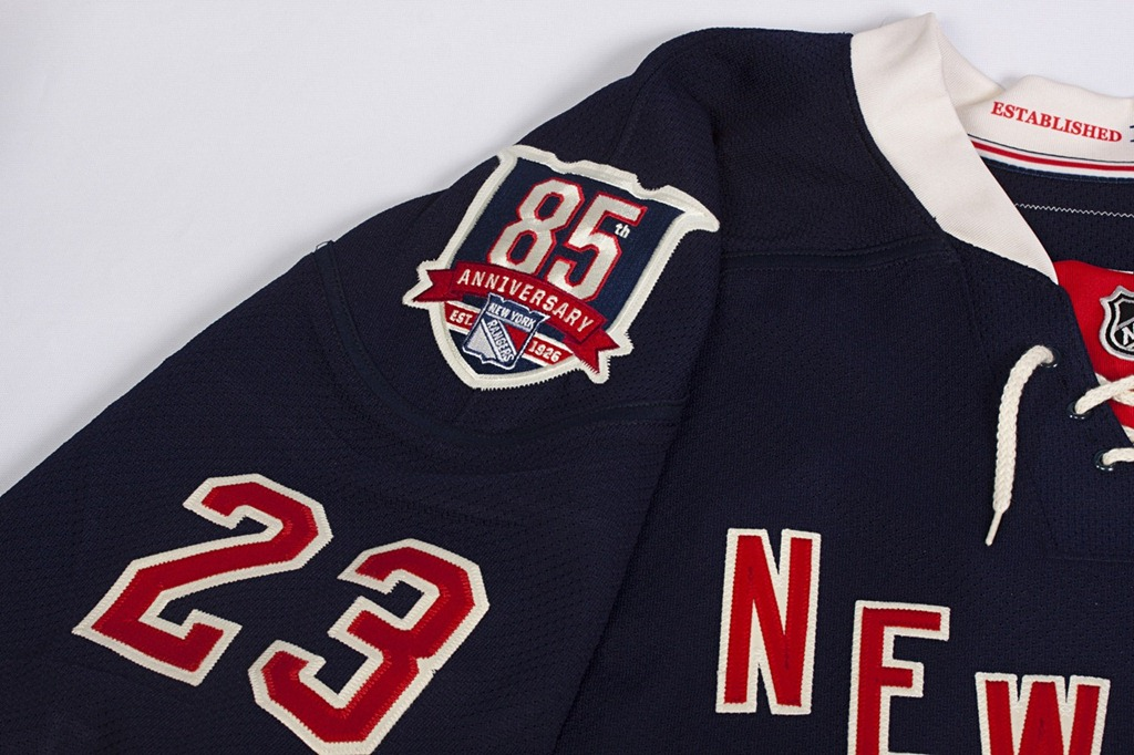 New York Rangers Jersey By Year