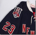 November 9, 2010; New York Rangers 85th Anniversary Jersey shot in studio.